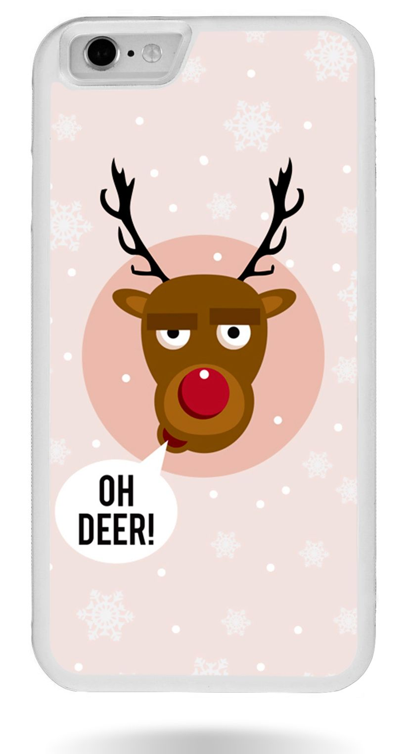 Чохол на Новий рік з Оленем для iPhone 6   6s Oh deer 1e18225a55b17