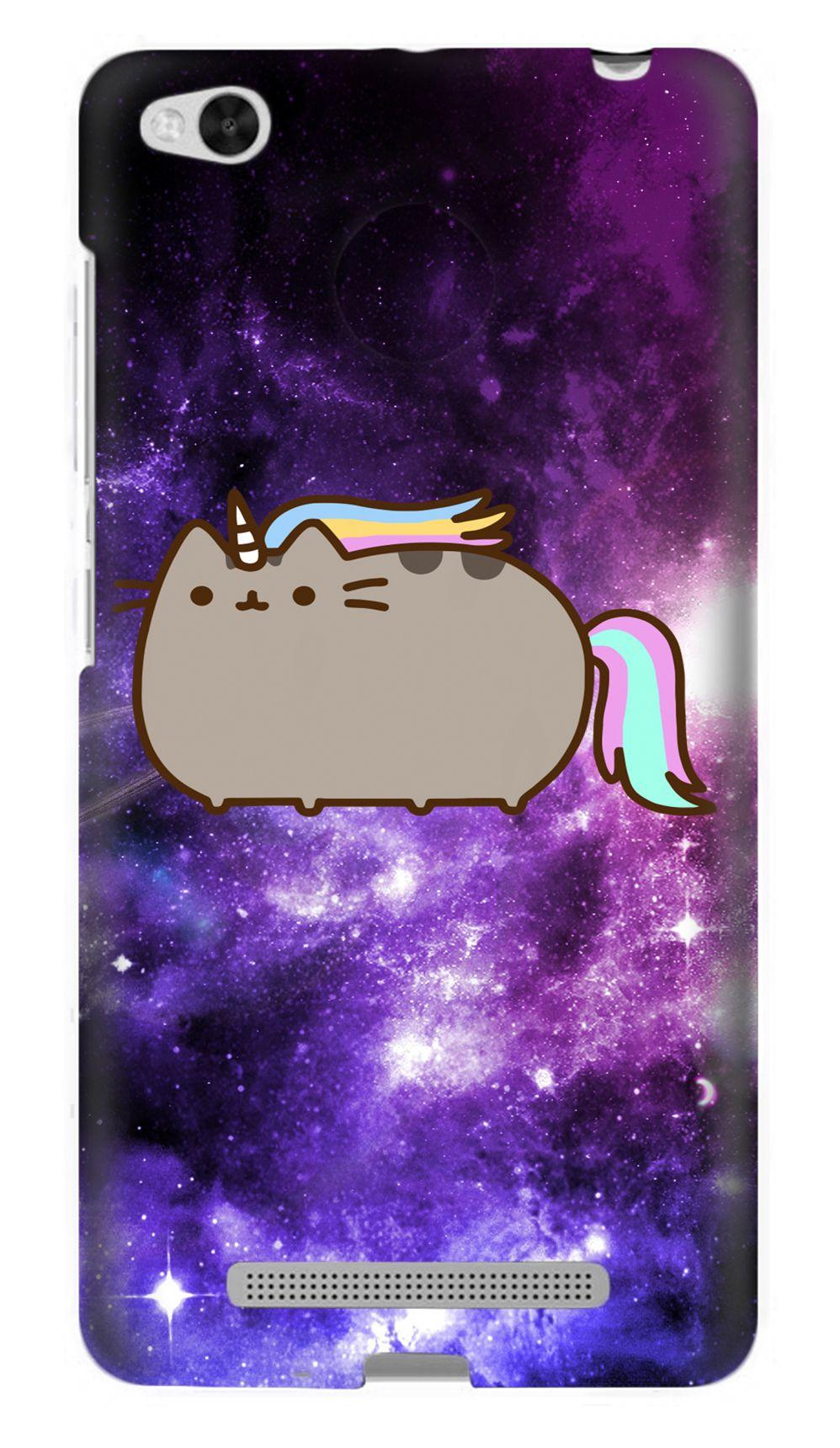 Чехол кот единорог для Xiaomi Redmi 3
