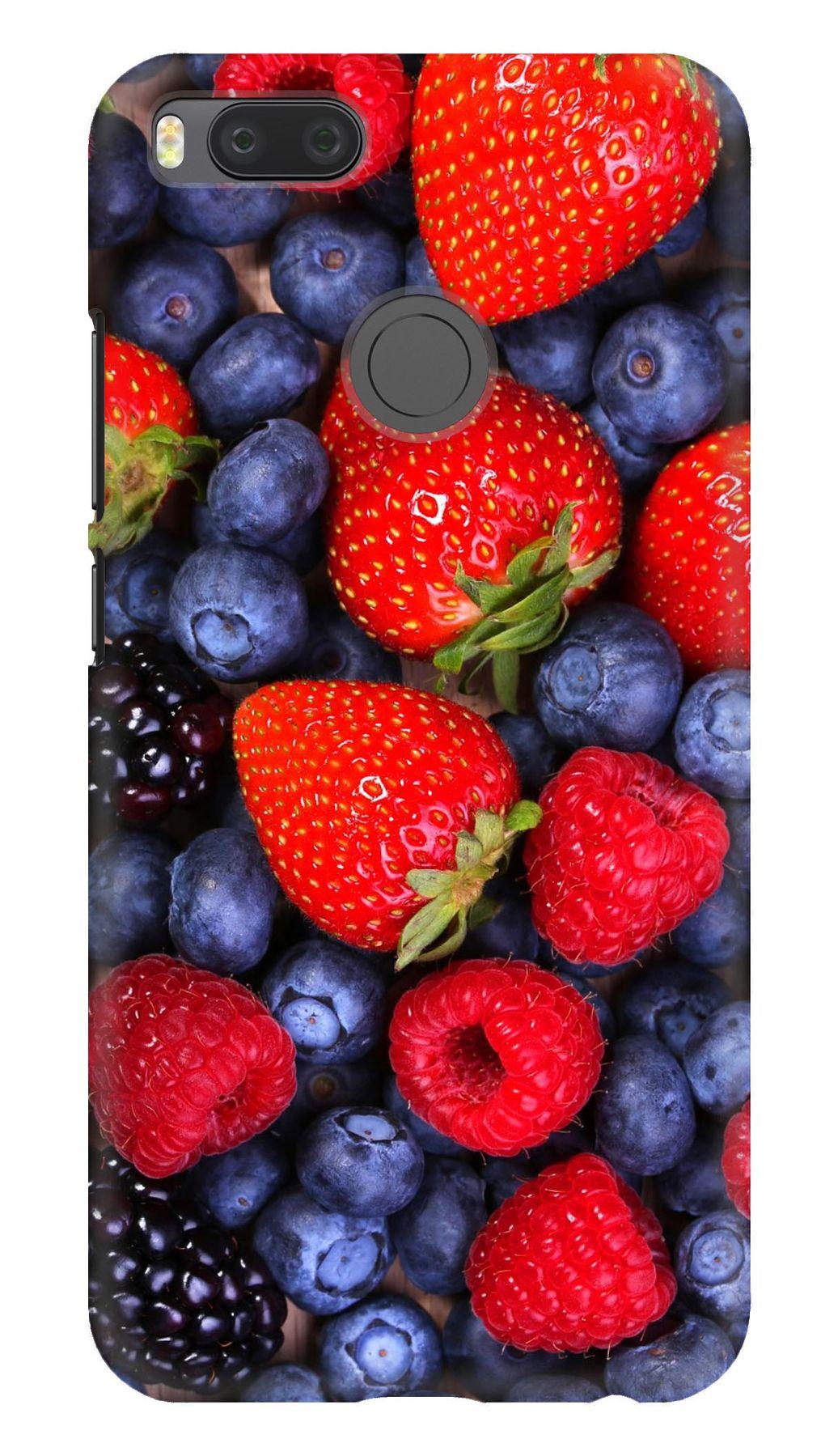 Чохол з ягодами на Xiaomi Mi A1   5x яскравий a1050f0d5e93e