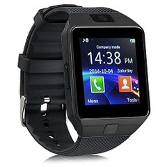 Смарт часы Smart watch DZ09 черные black original