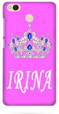 Рожевий чохол для дівчини на Xiaomi Redmi 4x Ім я Ірина 8c298226f57ee