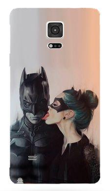 Матовий чохол на Galaxy Note N910H Бетмен і Дівчина-кішка f7cf1ff6b92ec