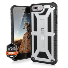 Захисний чохол UAG Monarch series для iPhone 7 plus - Платина