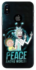 Rick and Morty бампер для iPhone X