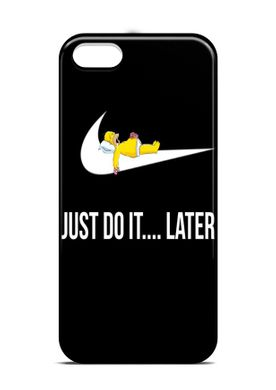 "Чехол мотиватор ""just do it"" iPhone 5 / 5s / SE"