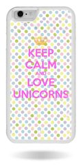 Бампер love unicorn iPhone 6 / 6s