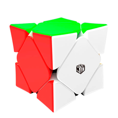 Кубик Рубик Скьюб QiYi X-Man Magnetic Skewb Stickerless