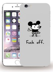 Чехол Fuck Off  iPhone 6 / 6s plus
